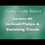 09. Inclined Planes & The Vanishing Trace