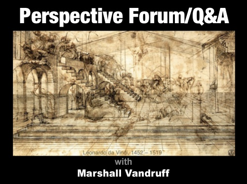 Drawing Forum and Q&A: Lessons in Perspective (webinar recording)
