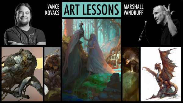 Art Lessons & Feedback with Vance & Marshall